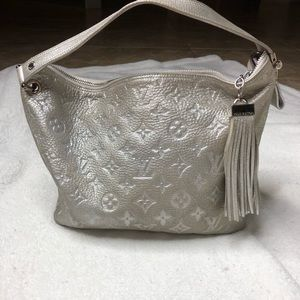Louis Vuitton Monogram Shimmer Halo Silver